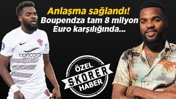 Son dakika transfer haberleri: Fenerbahçe ve Galatasaray peşindeydi Aaron Boupendza 8 milyon Euro karşılığında imzayı atıyor...