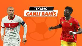 Türkiye - Gine maçı Tek Maç ve Canlı Bahis seçenekleriyle Misli.com'da