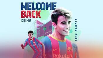 Son dakika haberi - Barcelona Agüero'dan sonra Eric Garcia'yı da transfer etti