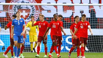 Türkiye'nin EURO 2020'deki rakibi İsviçre, hazırlık maçında farklı galip