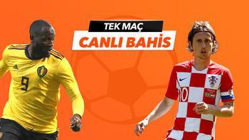 Belçika - Hırvatistan maçıTek Maç ve Canlı Bahis seçenekleriyle Misli.com'da