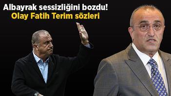 Son dakika Galatasaray haberi: Abdurrahim Albayrak sessizliğini bozdu! Olay Fatih Terim sözleri...
