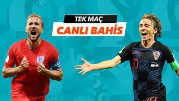 İngiltere - Hırvatistan maçı canlı bahis heyecanı Misli.com'da