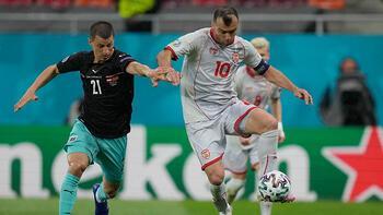 Avusturya - Kuzey Makedonya maçından görüntüler