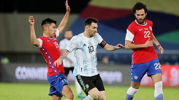 Kupa Amerika'da Arjantin ile Şili berabere kaldı