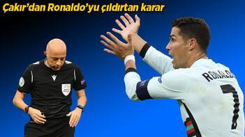 Son dakika haberi - EURO 2020'de Cristiano Ronaldo tarihe geçti! Cüneyt Çakır'ın kararına çıldırdı