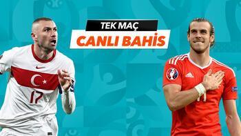 Türkiye - Galler maçının heyecanı Tek Maç ve Canlı Bahis seçenekleriyle Misli.com'da