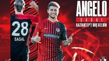 Gaziantep FK, Angelo Sagal'ı transfer etti