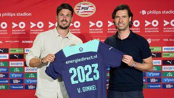 Son dakika - Galatasaray'ın rakibi PSV Eindhoven, Marco van Ginkel ile 2 yıllık sözleşme imzaladı