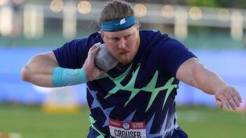 Ryan Crouser, gülle atmada 31 yıllık dünya rekorunu kırdı