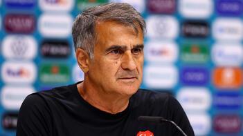A Milli Futbol Takımı Teknik Direktörü Şenol Güneş: Yarın kadroda değişiklikler olacak