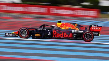 Max Verstappen, Fransada pole pozisyonunda