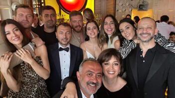 Uluç Bayraktar ile Alara Hamamcıoğlunun nikahına yıldız yağmuru