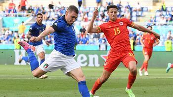 İtalya - Galler: 1-0