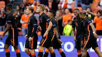 Kuzey Makedonya - Hollanda: 0-3