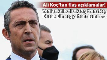 Son dakika: Ali Koç'tan yeni teknik direktör açıklaması: Pazartesi günü açıklayacağız!