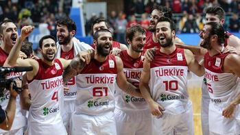 Basketbolda A Milli Takım olimpiyat aşkına