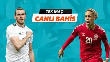 Galler - Danimarka maçıTek Maç ve Canlı Bahis seçenekleriyle Misli.com'da