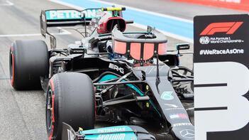 Bottas, Steiermark Grand Prix'sine üç sıra geriden başlayacak