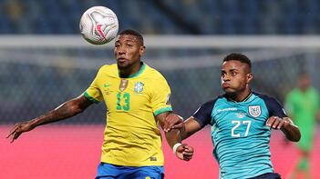 Kupa Amerika'da Brezilya ile Ekvador 1-1 berabere kalırken, Peru, Venezuela'yı 1-0 yendi