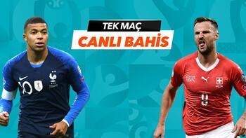 Fransa - İsviçre maçı canlı bahis heyecanı Misli.com'da