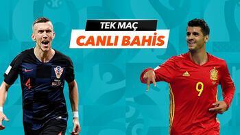 Hırvatistan - İspanya maçı heyecanı Misli.com'da