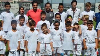 Real Madrid'in yeni yıldızları Antalya'da yetişiyor