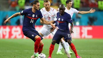 Fransa - İsviçre 3-3 (Penaltılar: 4-5)