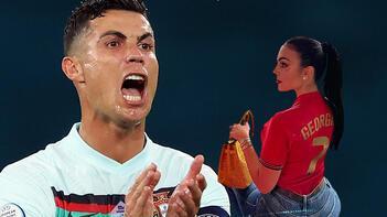 Son dakika haberi - Portekiz kupaya veda etti, Georgina tribünde damga vurdu