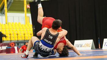 Milli güreşçi Polat Polatçı altın madalya kazandı