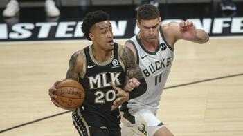 NBAde Atlanta Hawks, Milwaukee Bucksı farklı yenerek seriyi 2-2ye getirdi