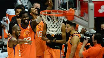 NBAde ilk finalist Phoenix Suns oldu
