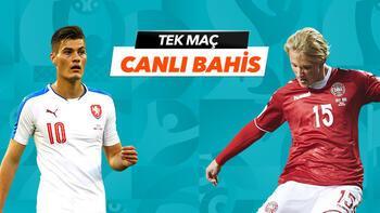 Çekya - Danimarka maçıTek Maç ve Canlı Bahis seçenekleriyle Misli.com'da