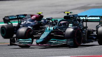 Son dakika - Formula 1'de Alonso'yu engelleyen Vettel'e üç sıra ceza