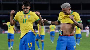 Brezilya, Copa Americada finalde