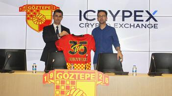Göztepenin forma kol sponsoru ICRYPEX oldu