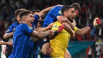 SON DAKİKA - EURO 2020'de şampiyon İtalya! Kupa penaltılarla geldi