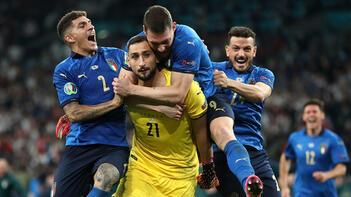 EURO 2020'nin en iyi oyuncusu Gianluigi Donnarumma