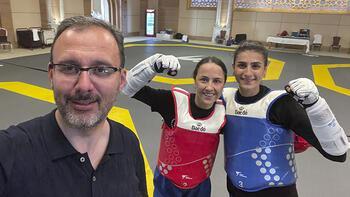 Bakan Kasapoğlu'ndan olimpiyat öncesi destek turları