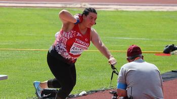 Son dakika - Pınar Akyol, gülle atmada altın madalya kazandı