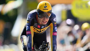 Fransa Bisiklet Turunda 20. etabı Wout van Aert kazandı