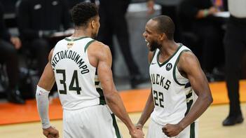 NBA finalinde Suns'ı yenen Bucks, seride 3-2 öne geçti