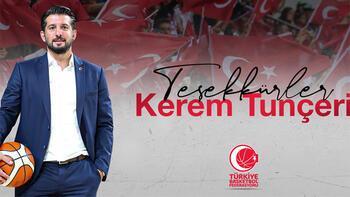 A Milli Basketbol Takımı'nda Kerem Tunçeri görevinden ayrıldı