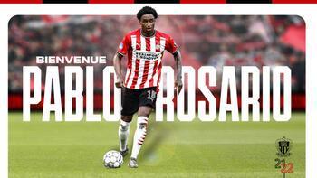 Nice, PSV'li oyuncu Rosario'yu renklerine kattı