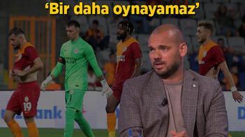 Son dakika haberi - Wesley Sneijderden şok açıklama: Bir daha oynayamaz