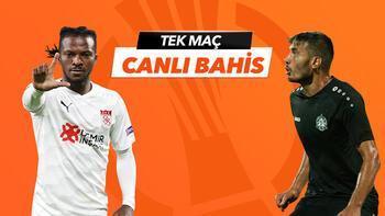 Sivasspor - Petrocub Konferans Ligi maçı heyecanı Misli.com'da