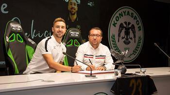 Son dakika - Konyaspor, Endri Çekiçi'yi transfer etti