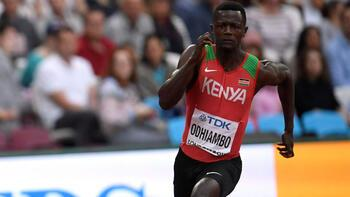 Mark Odhiambo'nun doping testi pozitif çıktı