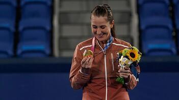 Belinda Bencic, Tokyo 2020 Olimpiyat Oyunları'nda altın madalya kazandı