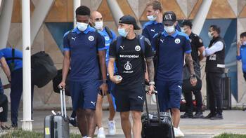 Dinamo Batum kafilesi Sivas'a geldi